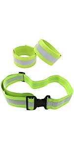 reflective bands, reflective belt, pt belt, reflective running gear