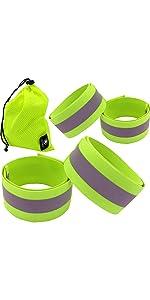 reflective running gear, reflective bands, reflective tape, reflective belt