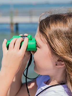 Binoculars for kids outdoor play bird watching