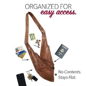 Sash crossbody travel bags organize items among multiple pockets in a  lightweight bdf0650ca4219