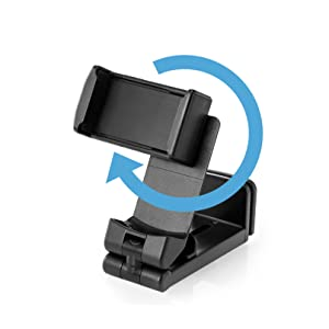 Mobile Portable Phone Stand Clamp Holder Mount 360 Rotating