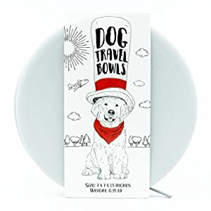 dog travel bowls collapsable bowls for dogs dogbuddy
