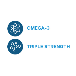 Omega-3 and triple strength