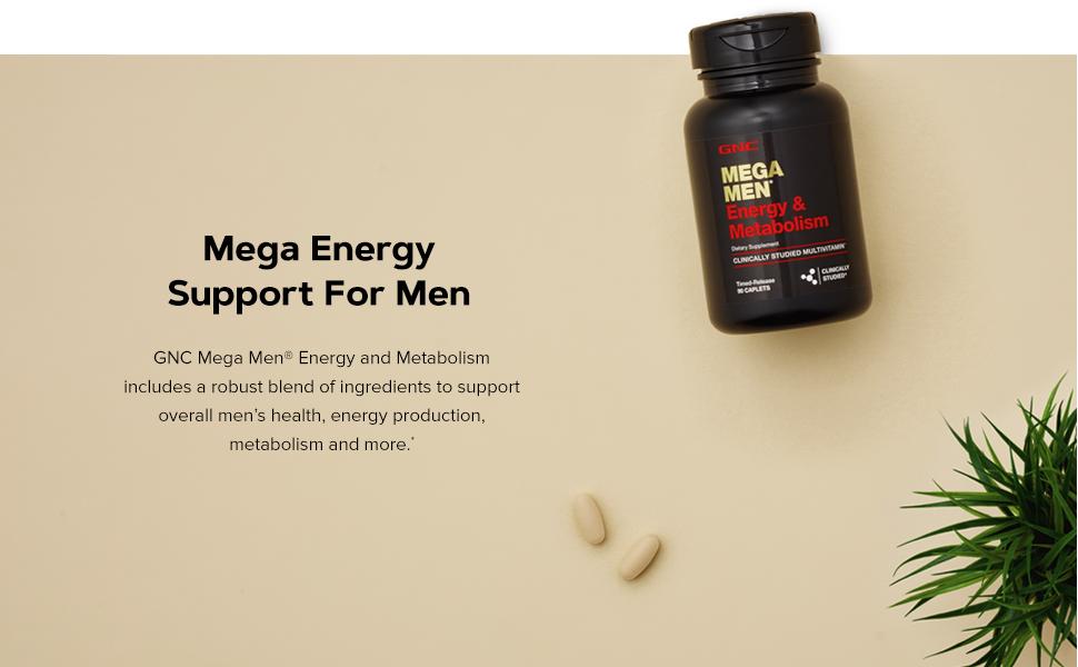 Mega Energy Support For Men