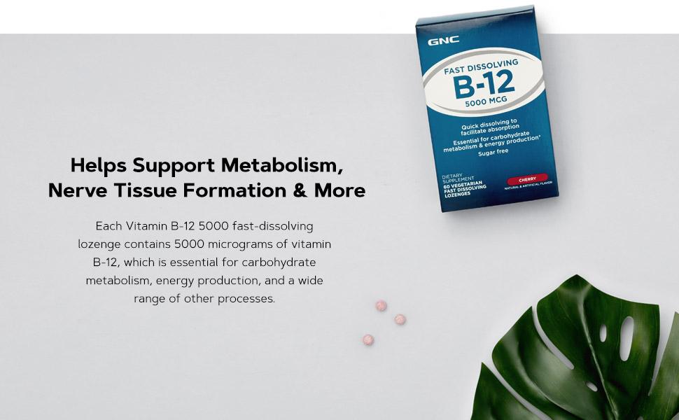 Help Support Metabolism, Nerve Tissue Formation & More.