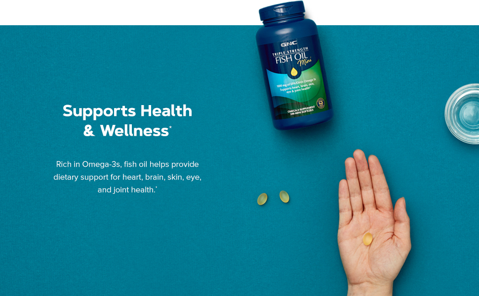 Supports Health and Wellness.*