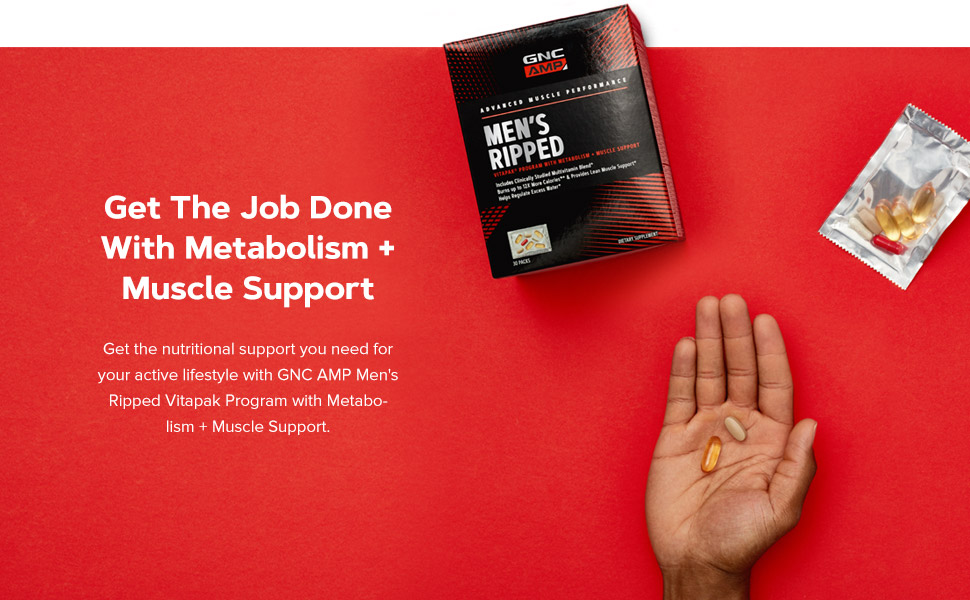 Get The Job Done With Metabolism + Muscle Support.