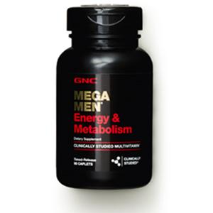 Details of GNC Mega Men Energy and Metabolism