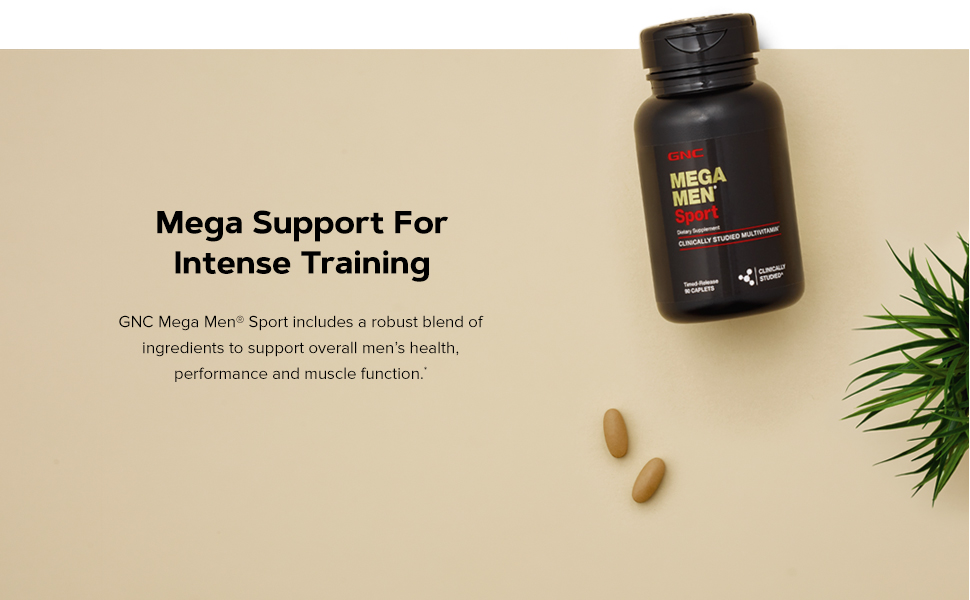 Mega Support For Intense Training