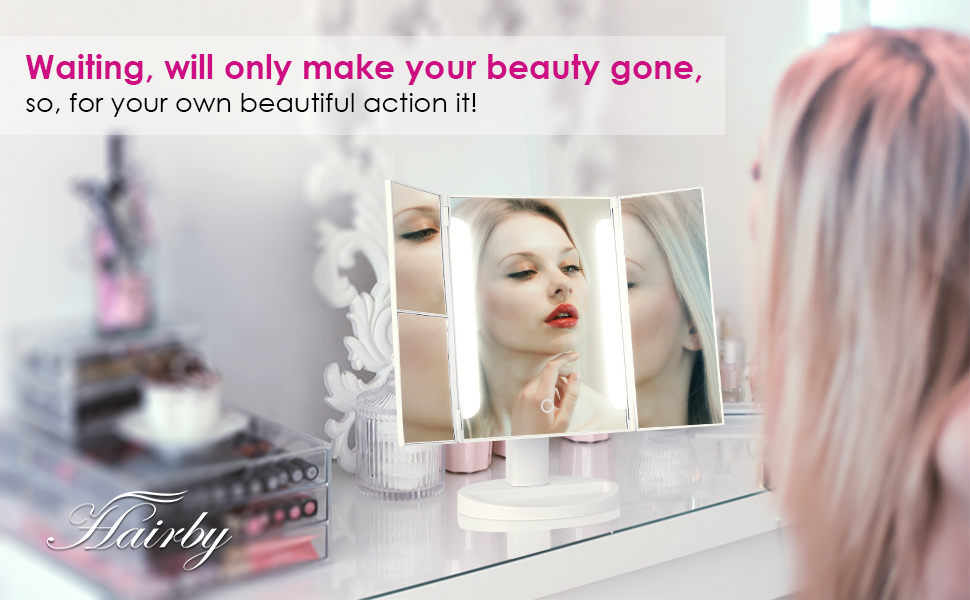 Take A Look At Our Favorite Vanity Mirrors Thatll Become Your New Everyday Essential Its Time To Light Up Your Makeup