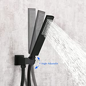 360° Angle Adjustable with Shower