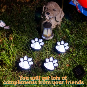 pet memorial gifts dog memorial gifts home and garden decor outdoor solar light path lights