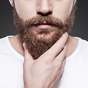 Easy simple apply and leave condition rub moisturize massage beard skin wash out healthy