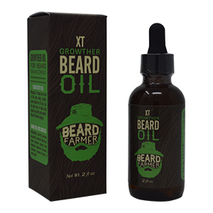 growther xt beard oil dropper essential oil growth thicken stronger hair moisturize skin
