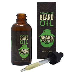 beard oil growth grow hair facial natural safe organic pure moisturizer gentle dropper