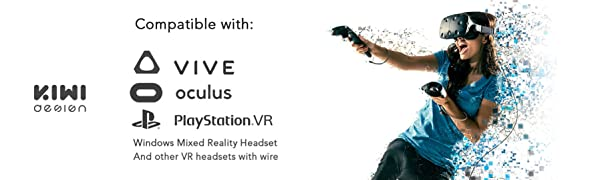 VR Cable Managment and HTC Vive Pro Virtual Reality / Oculus Rift / PlayStation VR /Microsoft MR