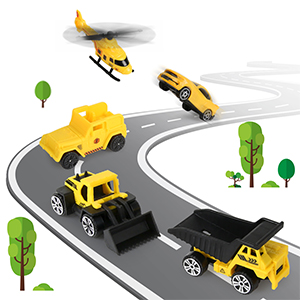 play construction truck