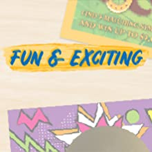 A top and bottom of St. Patricks's Day scratch-off tickets with text: Fun & Exciting
