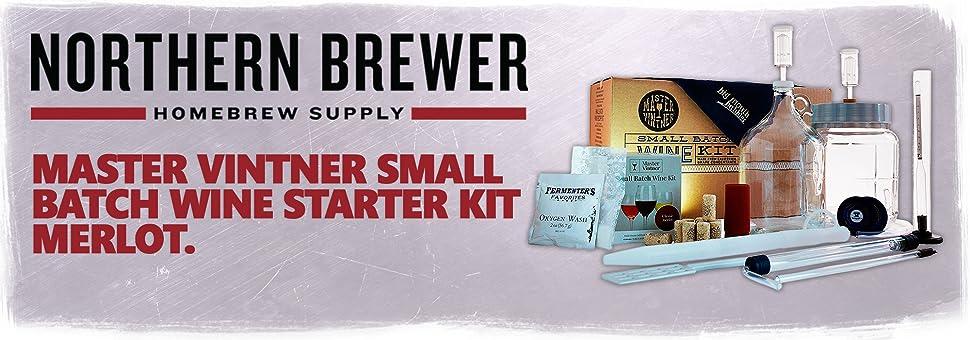 Amazon Com Merlot Kit Master Vintner 1 Gallon Small