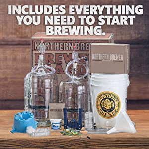 Northern Brewer - Deluxe Home Brewing Equipment Starter Kit