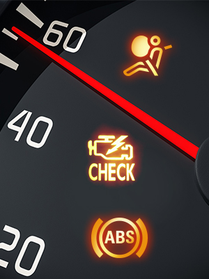 abs,srs,airbag,check engine light