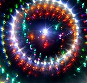 GloFX Kaleidoscope Rave Glasses - Rainbow Wormhole Prism Diffraction  Eyeglasses Rabbit Hole Festival Portal