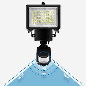 motion solar lights