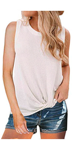 MIHOLL Women's Casual Tops Lace Off Shoulder Long Sleeve