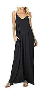 fb79d5f970ea5 Off Shoulder Loose Lace Dress · Maxi Dress With Pockets · Loose Midi Casual  Dress · Casual Loose Plain Maxi Dresses · Sexy Lace Patchwork Casual Mini  ...