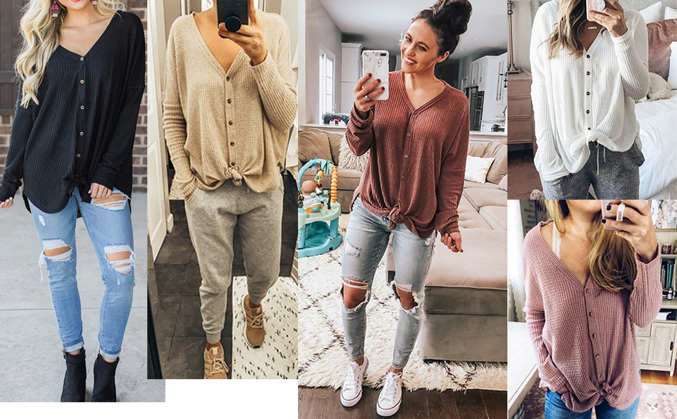 women casual tops