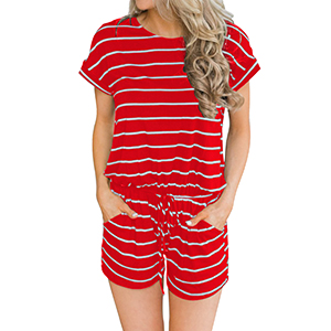 red rompers