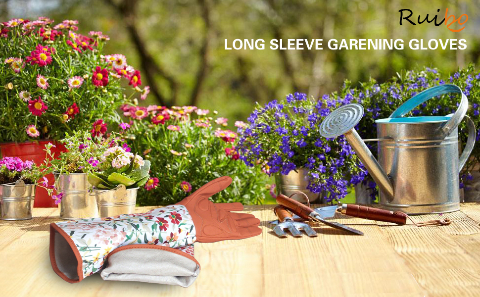 Rose Gloves Gardening Thorn Proof Ladies