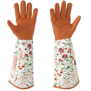 long gardening gloves women