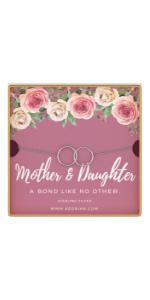 mother daughter bracelet sterling silver