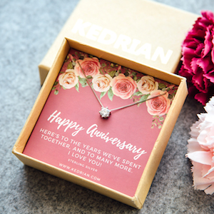 Anniversary Necklace sterling silver