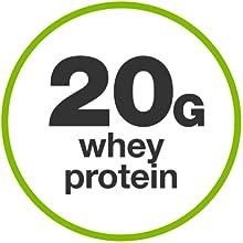 20g whey protein