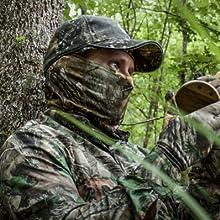 hunting bug camo face mask
