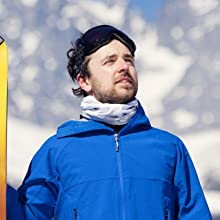 neck gaiter scarf for skiing snowboarding