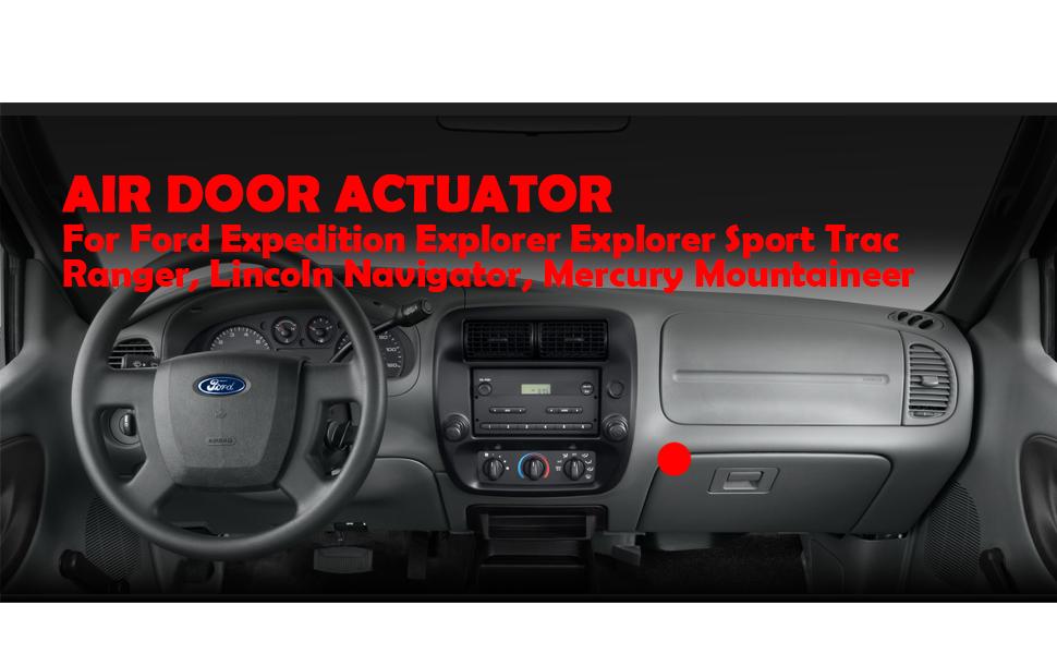Heater AC Blend Air Door Actuator for Ford Explorer Ranger Mountaineer