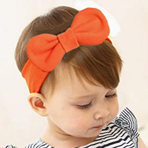 Cotton Headband with Bow tie