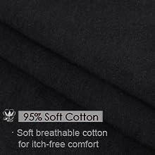 8367b7f2740b wirarpa Womens Cotton Underwear High Waist Full Coverage Brief Panty ...