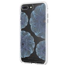 Evo Check Evoke Case for iPhone 7+/8+ Clear/Blue