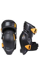 Toughbuilt Knee Pads Gelfit Support Thigh Professional Black Stabilization Gel