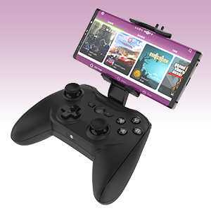 Rotor Riot Mobile Gamepad – Latency Free Wired Controller with L3 + R3,  Improved 8 Way D-Pad, Highly Compatible Gaming Device Holder for Android