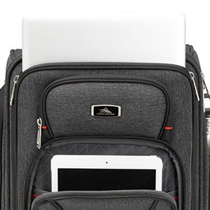 carryon glide highsierra hisierra hi lady laptop luggage men pack roller rolling seat siera slim sma