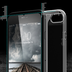 Purity iPhone 8+ screen protector