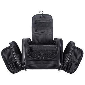 Amazon.com: Beschan Extra Large PU Leather Hanging Travel