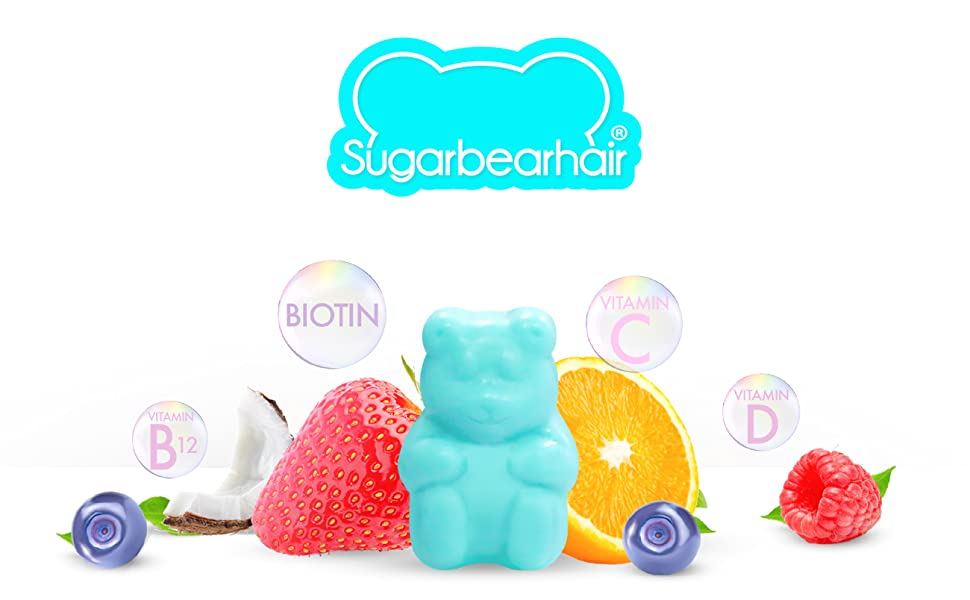 SugarBearHair Vitamins (3 Month Gift Pack Free Brush)
