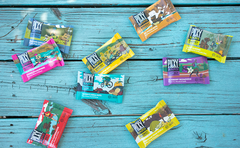 picky bars are real food energy bars