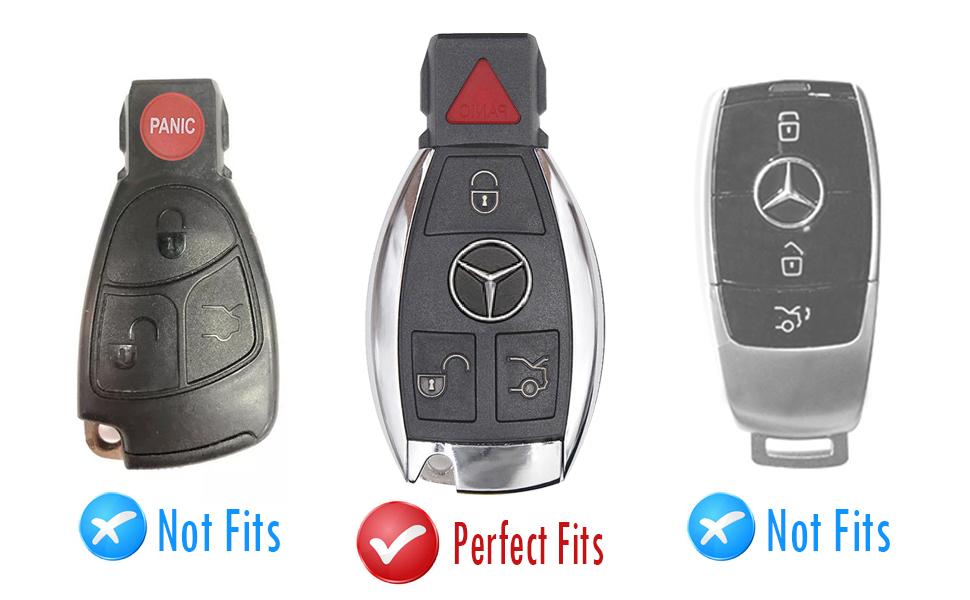 Mercedes Benz Key Fob Appearance